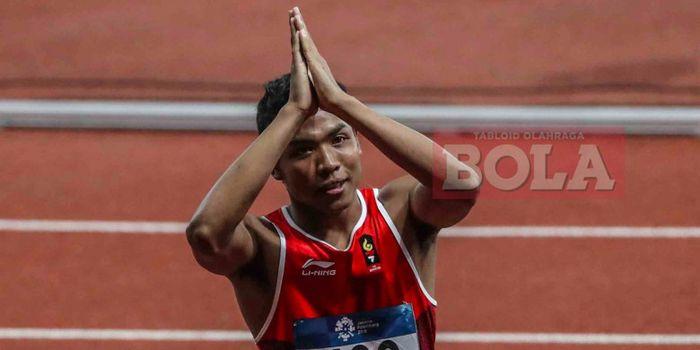 Sprinter asal Indonesia, <a href='https://batam.tribunnews.com/tag/lalu-muhammad-zohri' title='LaluMuhammadZohri'>LaluMuhammadZohri</a>