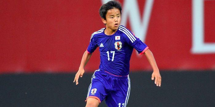 Wonderkid FC Tokyo dan timnas Jepang, Takefusa Kubo.