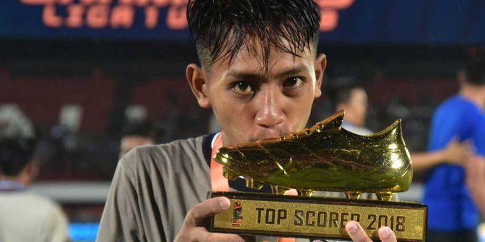Pemain Persib Bandung, Beckham Putra Nugraha.
