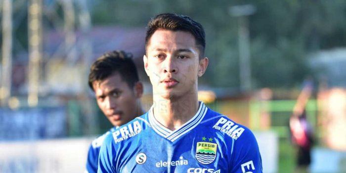 Bek muda Persib Bandung, Muhammad Al Amin Syukur Fisabillah, bangga dengan keramahan bobotoh.