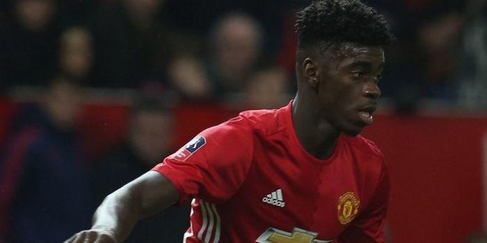 Bek muda Manchester United, Axel Tuanzebe.