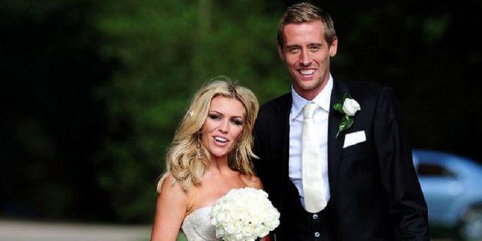 Foto Pernikahan Abbey Clancy dan Peter Crouch