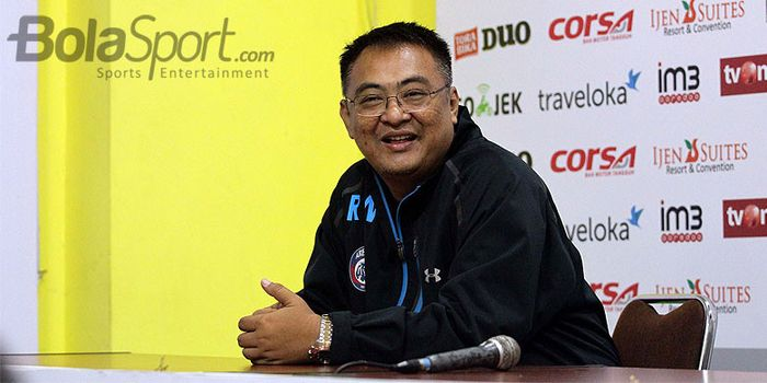 Manajer Umum Arema FC, Ruddy Widodo.