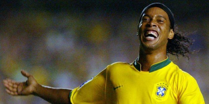 Ronaldinho kala membela Brasil di Piala Dunia 2002