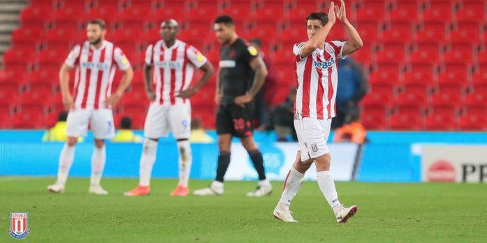 Bojan Krkic saat beraksi bersama Stoke City