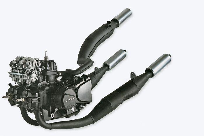 Mesin V3 Honda MVX250