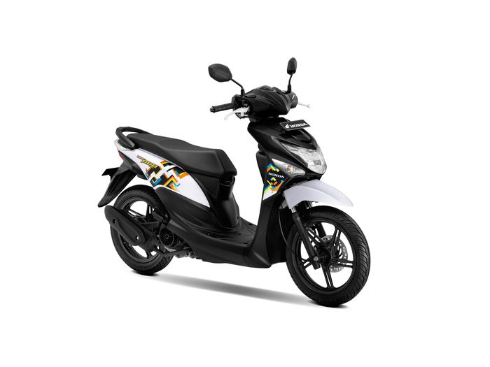 New Honda Beat POP eSP - Harmony Black White