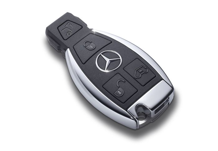 Kunci Mercedes-Benz yang sudah dibekali immobilizer