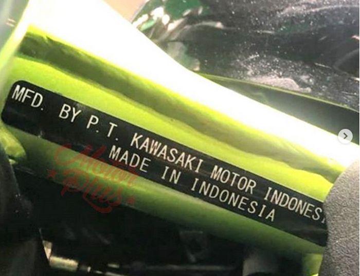 Kawasaki Ninja 125 Buatan Indonesia