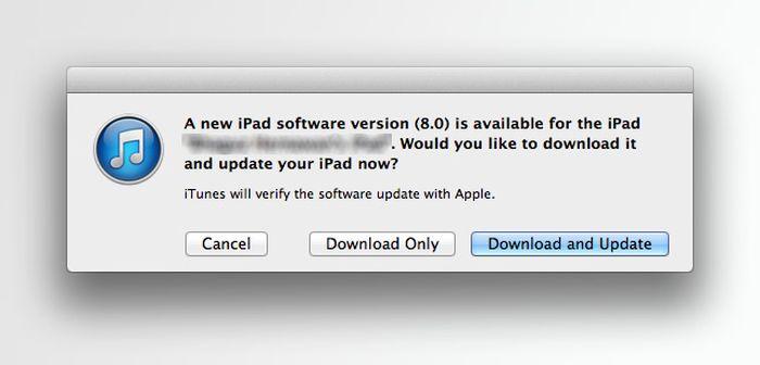 updating ipad to ios 8