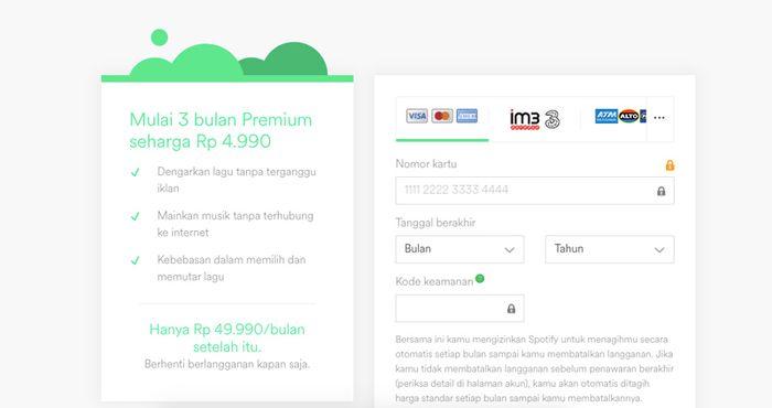 Spotify Menghadirkan Promo Layanan Premium 10 Ribu Rupiah Untuk 3 Bulan Makemac