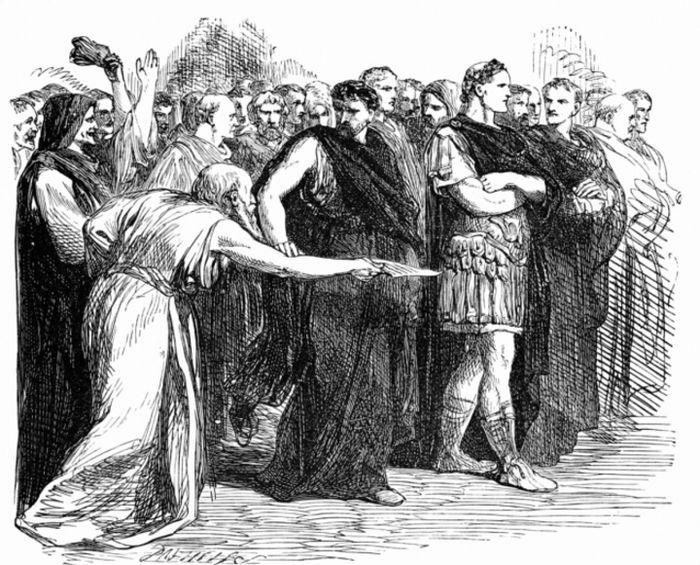 Ilustrasi Julius Caesar, sekutu yang akhirnya berubah jadi musuh bagi Pompey.