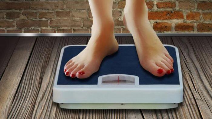 Ilustrasi menjaga berat badan.