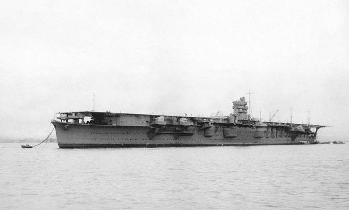 Kapal Induk Hiryu milik Angkatan Laut Kekaisaran Jepang, foto pada 1939.