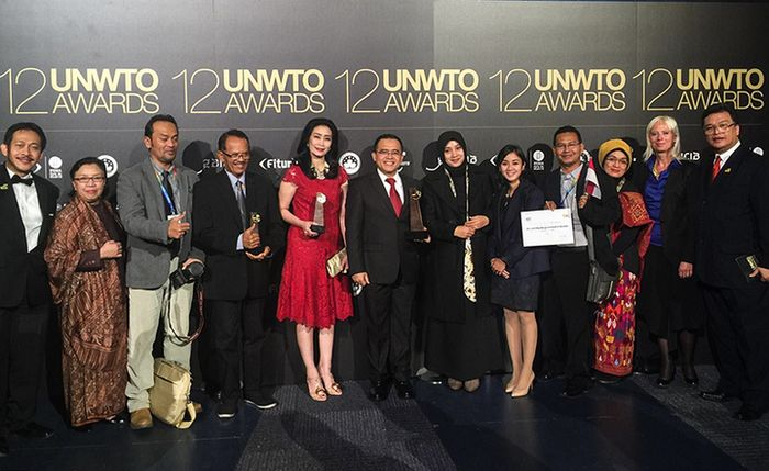 Delegasi yang mewakili Republik Indonesia di ajang United Nations World Tourism Organization (UNWTO)