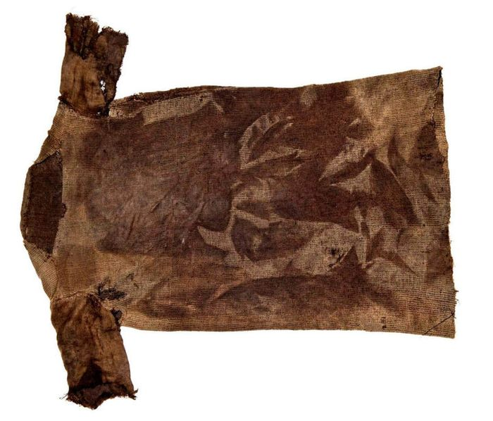 Iron Age tunic, radiocarbon-dated 300 AD Found on an iceberg pass.