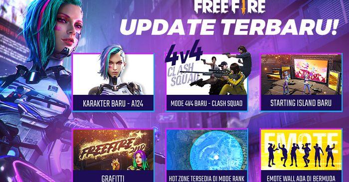 Ada Karakter Baru Dan Mode Baru Di Update Patch Garena Free Fire Bulan Agustus