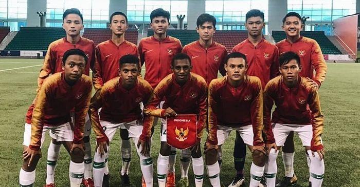Link Live Streaming Timnas U-16 Indonesia Vs China - Laga Penentu Juara Grup