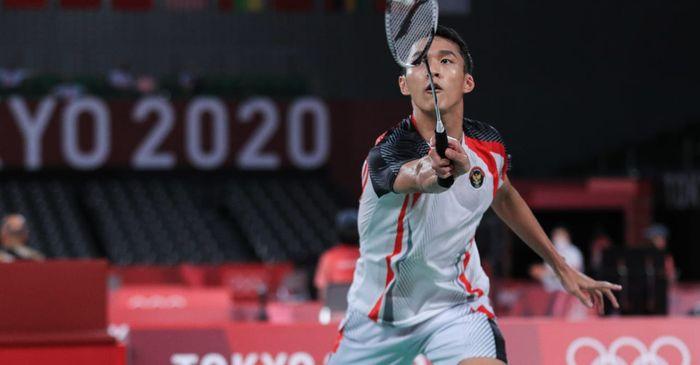 Hasil Bulu Tangkis Olimpiade Tokyo 2020 - Kalahkan Penakluk Lin Dan, Jonatan Puncaki Grup G
