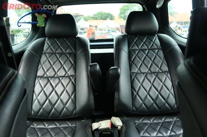Captain seat di Toyota Avanza milik Ipul
