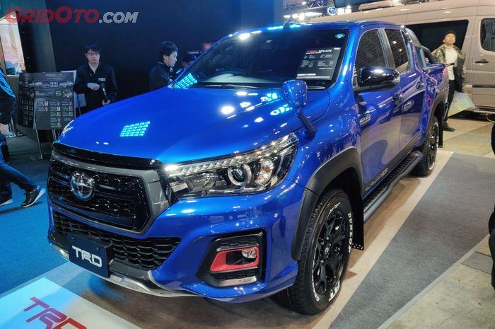 Toyota Hilux TRD. Makin terlihat sangar