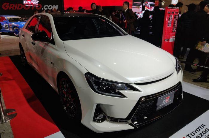 Toyota Mark X GRMN hanya 350 unit saja