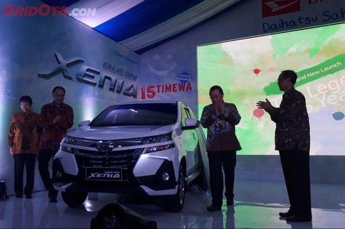 Daihatsu Grand New Xenia yang akhirnya resmi diluncurkan