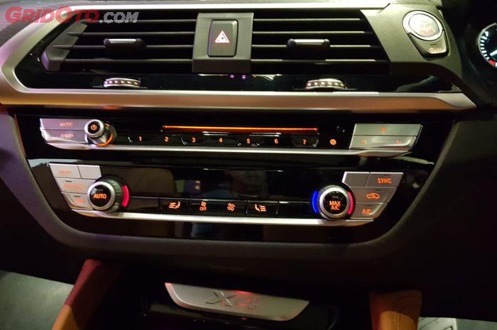 BMW Favourite Buttons di BMW X4, Salah Satu Ciri Khas BMW iDrive