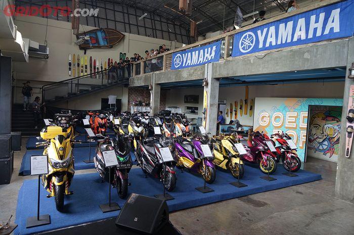 Sesi Penjurian Customaxi Yamaha 2018 Kota Makassar