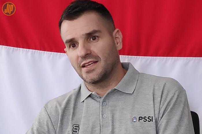 Pelatih timnas Indonesia, Simon McMenemy.