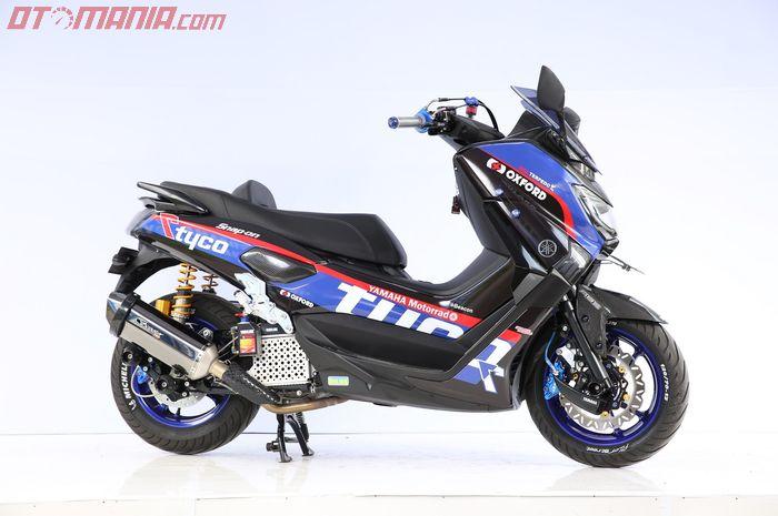 Yamaha NMAX bergaler Daily Use Customaxi Surabaya