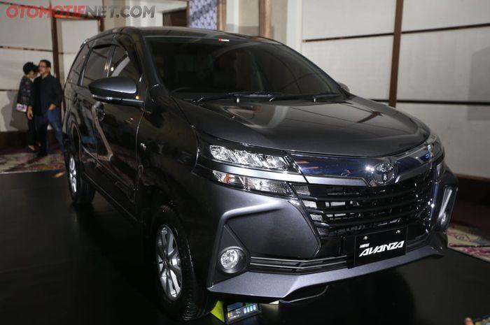 Toyota Avanza 2019. Tampak depan