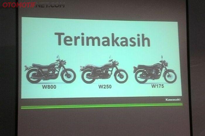 Keluarga Kawasaki berkode 'W' kini lengkap dengan ganti namanya Estrella 250 jadi W 250