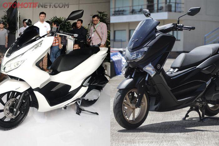 Yamaha NMAX dan Honda PCX 150