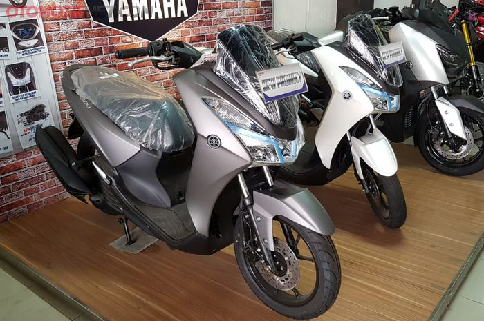 Display Yamaha Lexi di dealer