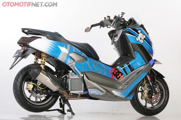Modifikasi Yamaha NMAX Motif Ken Block