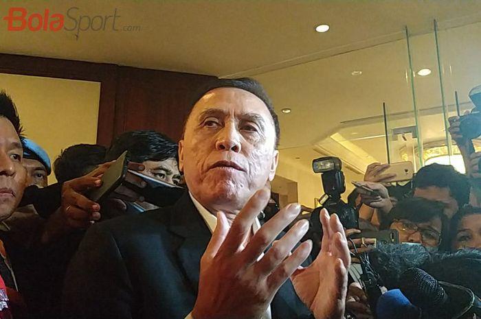 Ketua Umum PSSI, Mochamad Iriawan alias Iwan Bule, di Hotel Shangri-La, Jakarta, Sabtu (2/11/2019).