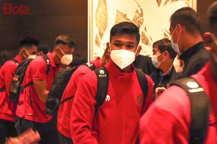 Timnas Indonesia U-19 berangkat ke Spanyol pada Sabtu (26/12/2020) dari Hotel Fairmont di Jakarta.