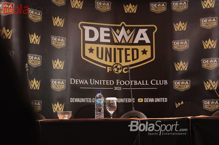 Logo klub Liga 2 bernama Dewa United