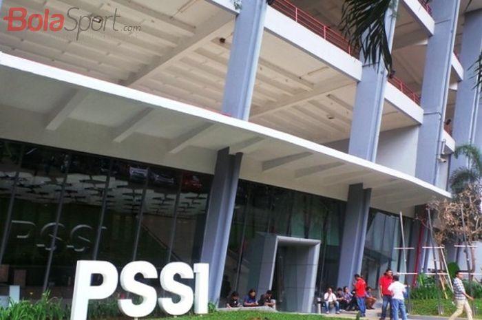 Kantor PSSI di kawasan Stadion Utama Gelora Bung Karno, Senayan, Jakarta.
