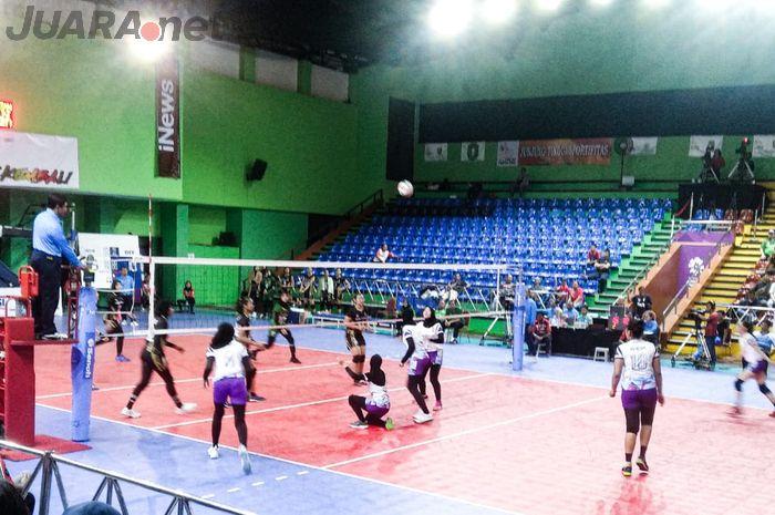 Pra PON 2020 - Tim putri Jawa Timur berhasil mengalahkan perlawanan wakil DIY.