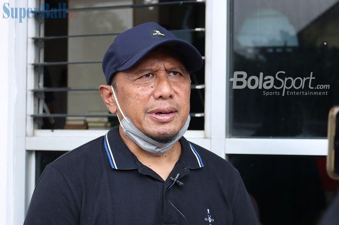 Pelatih Madura United, Rahmad Darmawan.