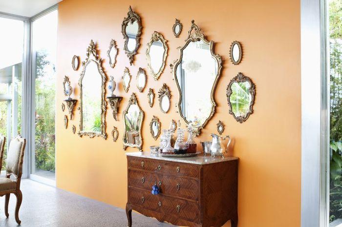 Ternyata cermin mempunyai mafaat psikologis bagi penghuni rumah