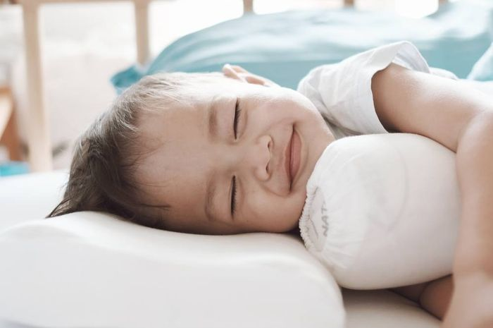 Baby Bjorka saat tidur manis