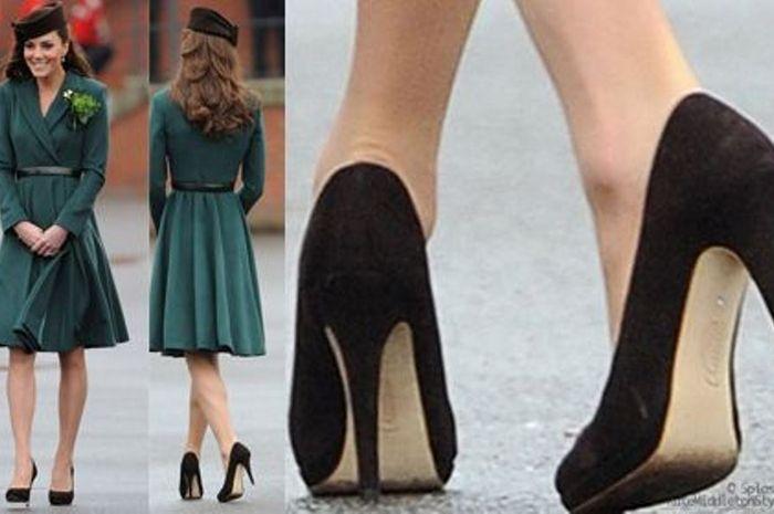 Ikuti Cara Kate Middleton. Seharian Pakai High Heels Kaki Enggak ... 31de421f79