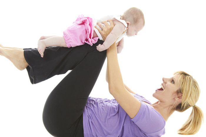 Langsing usai melahirkan tanpa diet ketat