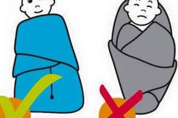 Bedong dapat berbahaya jika dilakukan dengan cara yang salah