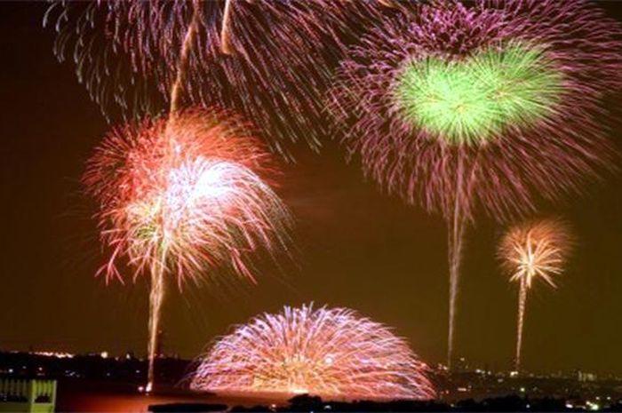 Tempat yang cocok untuk menyaksikan kembang api di Jakarta (Tribunnews)