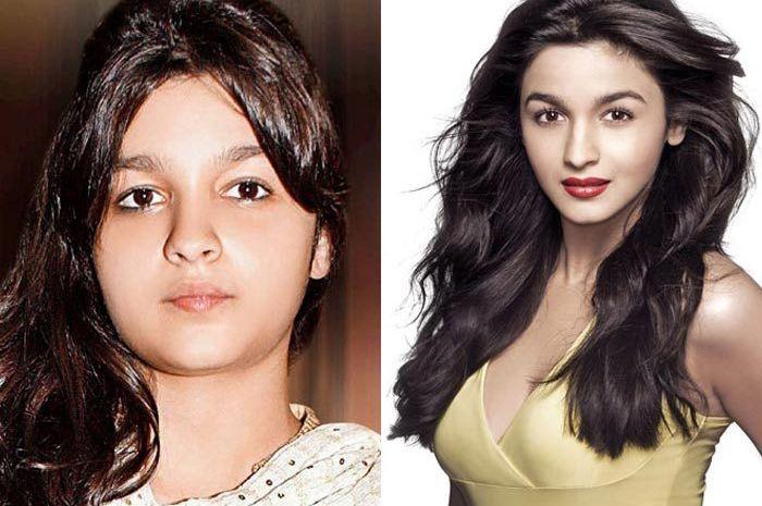 Aktor Bollywood Dulu VS Now
