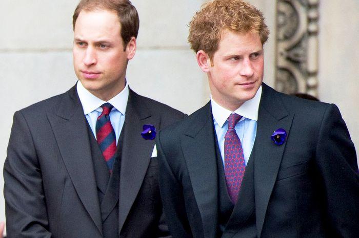 Prince William dan Prince Harry ternyata juga tak suka sayuran saat kecil
